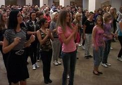 Студенческие танцы в пту видео, разврат над аналом фото